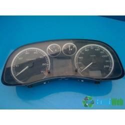 Peugeot 307 1,6 benzines kilométerora (müszercsoport)
