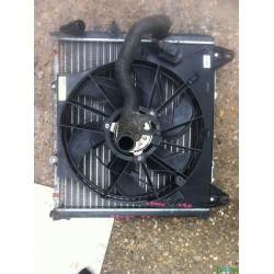 Kangoo 1.9D hűtő és alaktrészei